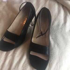 Black Chanel Shoes